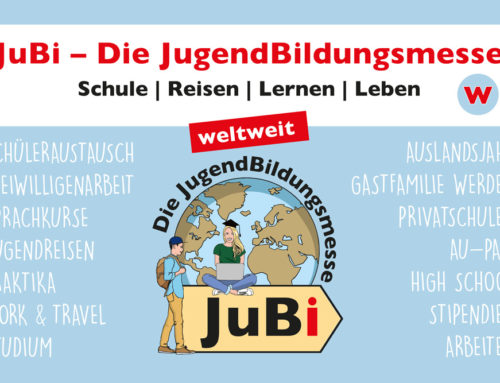Weltenbummler aufgepasst: Die JuBi kommt nach Essen